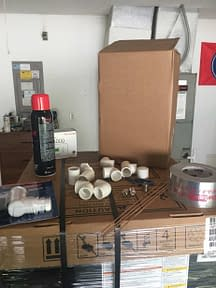 More supplies, its kindof our thing. Courtesy of Florida Cooling Store Inc. of Jacksonville, FL