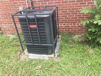 Protect that condenser!, Courtesy of Florida Cooling Store Inc. of Jacksonville, FL