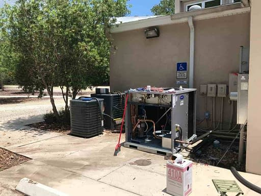 Commercial AC Job In St. Augustine FL By Florida Cooling Store