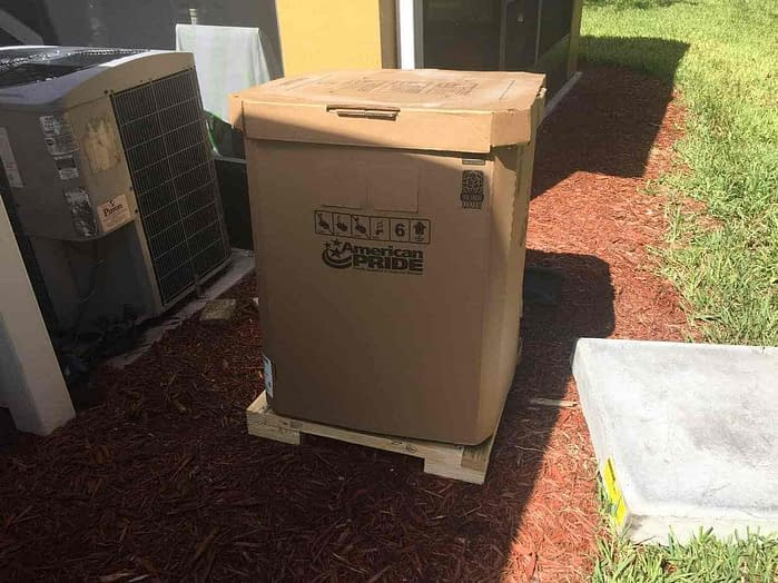 Ready for a new home! Courtesy of Florida Cooling Store Inc. of Jacksonville, FL