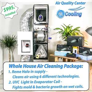 Reme Halo & FL Cooling IAQ