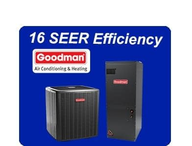 GSXC160481AVPTC59C14 Goodman 4.0 Ton 16.0 Seer Air Conditioner System with air Handler
