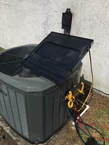 Trane Under Vacuumm Courtesy of Florida Cooling Store Inc. of Jacksonville, FL