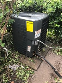 Goodman Condenser Recent Install! Courtesy of Florida Cooling Store