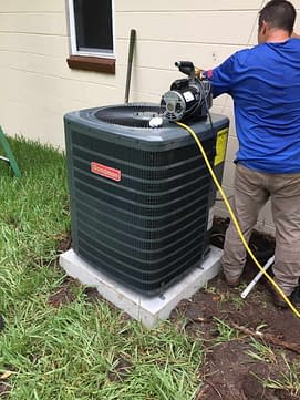 Lets get this right! Goodman Condenser Courtesy of Florida Cooling Store Inc. of Jacksonville, FL
