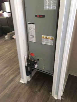 Clean Trane Air Handler Courtesy of Florida Cooling Store Inc. of Jacksonville, FL